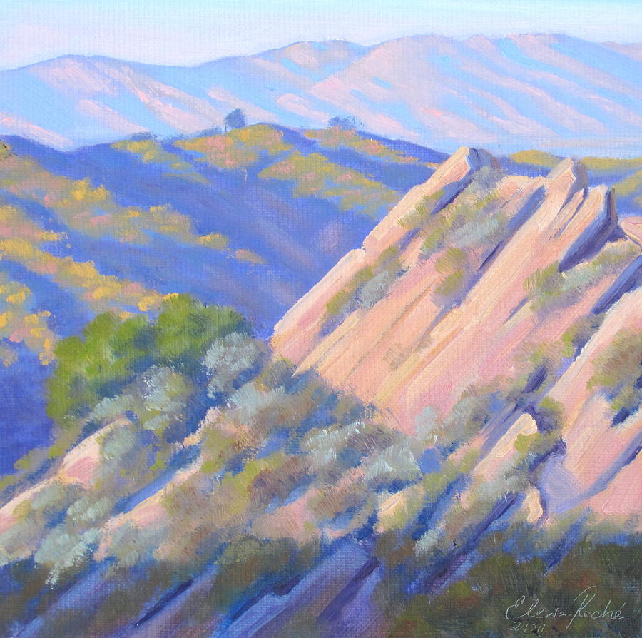 Painting Painting - Rochemont Rock by Elena Roche