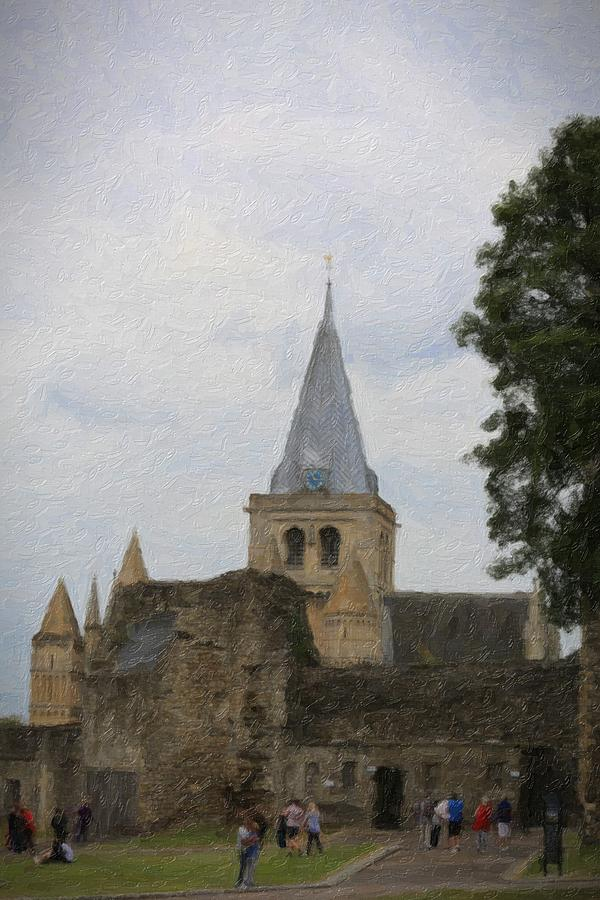 Rochester Cathedral Art Photograph by Zahra Majid
