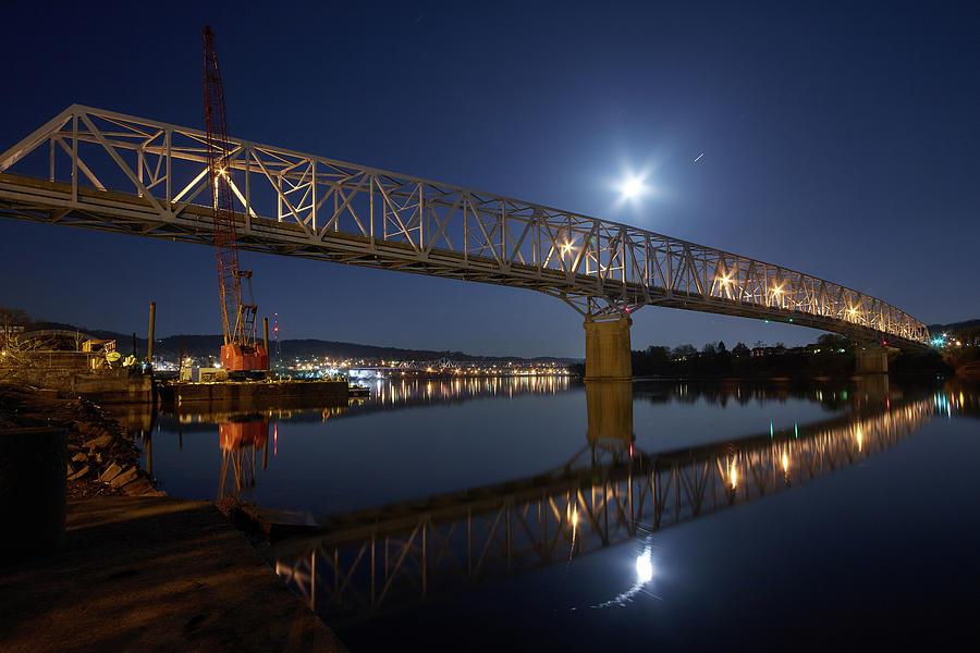 Rochester Photograph - Rochester-monaca Bridge by Thomas DiVittis