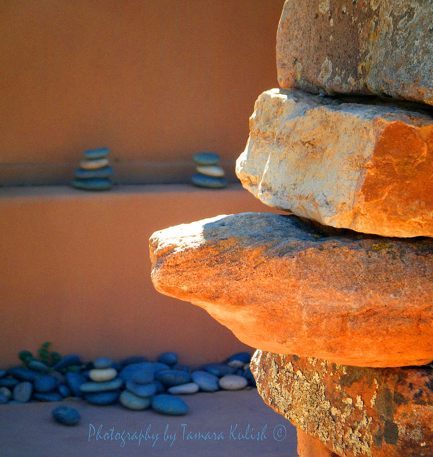 Brown Photograph - Rock 2 by Tamara Kulish