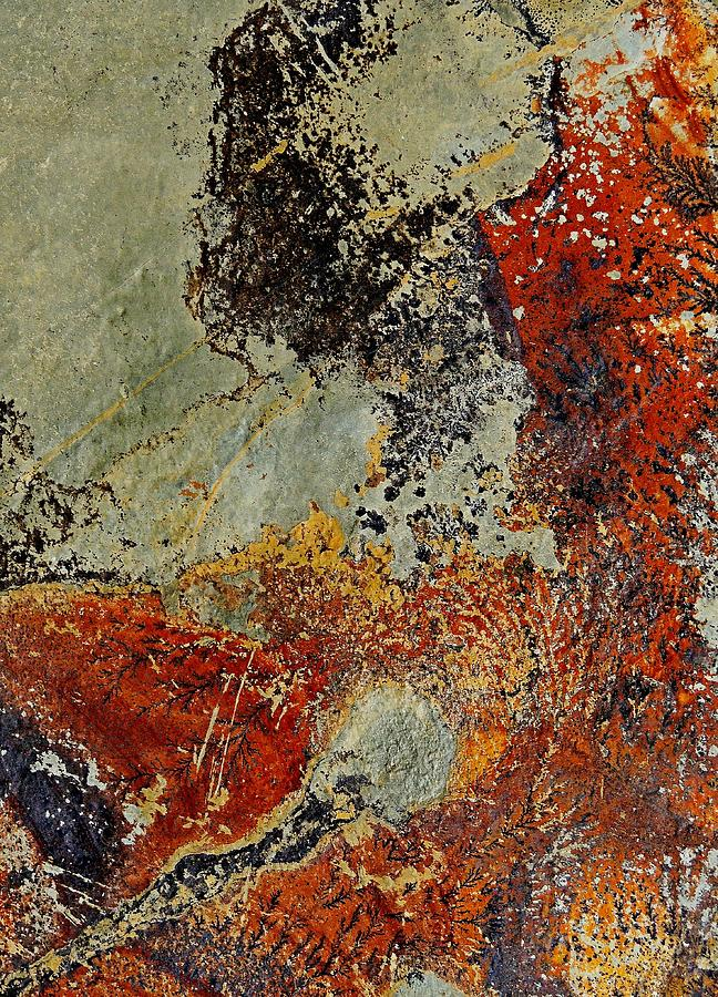 Abstract Photograph - Rock Aerial Landscape 6 by Denise Clark