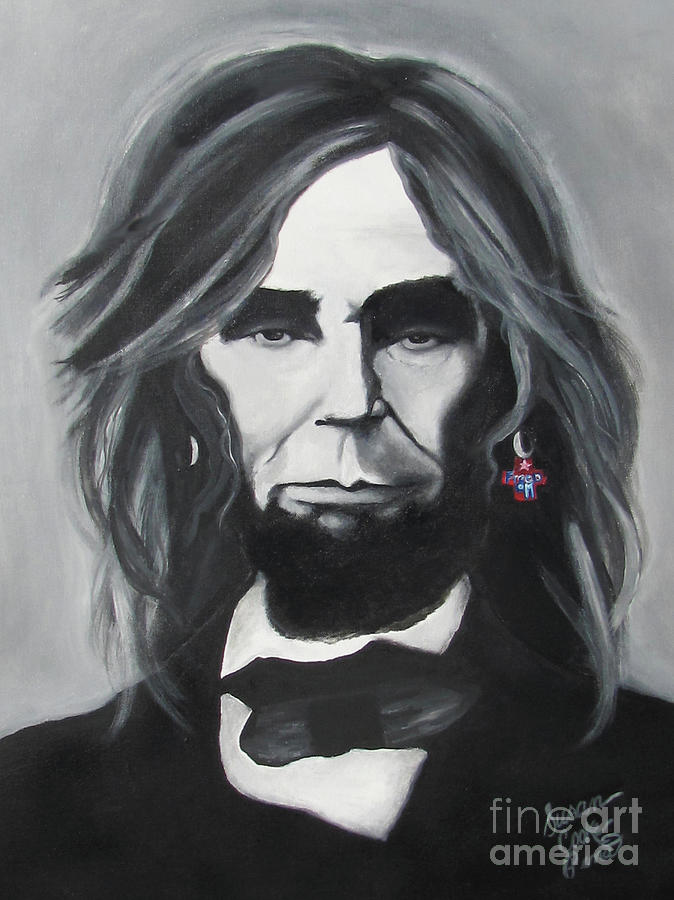 Painting Painting - Rock And Roll Freedom by Susan Cooke Pena