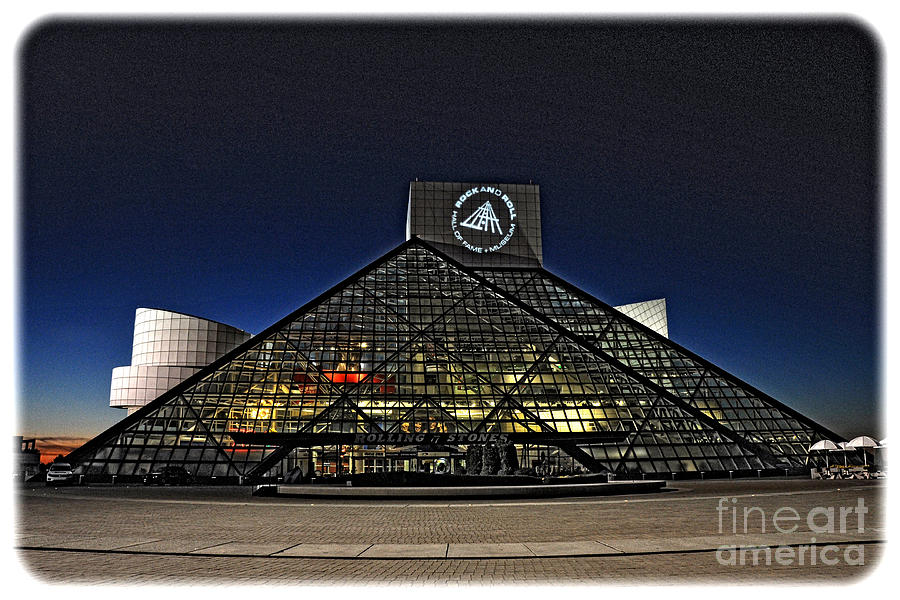 Rock And Roll Hall Of Fame - Cleveland Ohio - 5 by Mark Madere