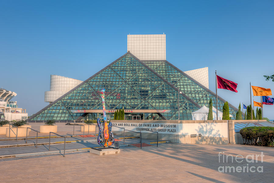America Photograph - Rock And Roll Hall Of Fame I by Clarence Holmes