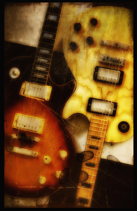 Les Paul Photograph - Rock And Roll Never Forgets by Bill Cannon