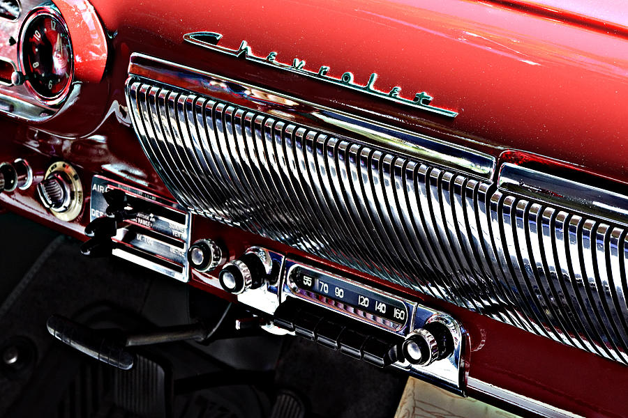 Rock Around The Clock Bel Air Radio At The Golden State - Paso robles car show