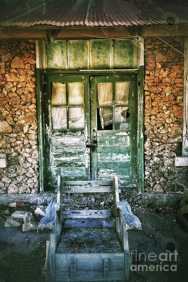 Rock Building With Two Doors Photograph