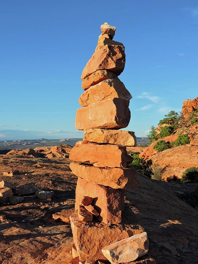 Rock Cairn Photograph By Connor Beekman