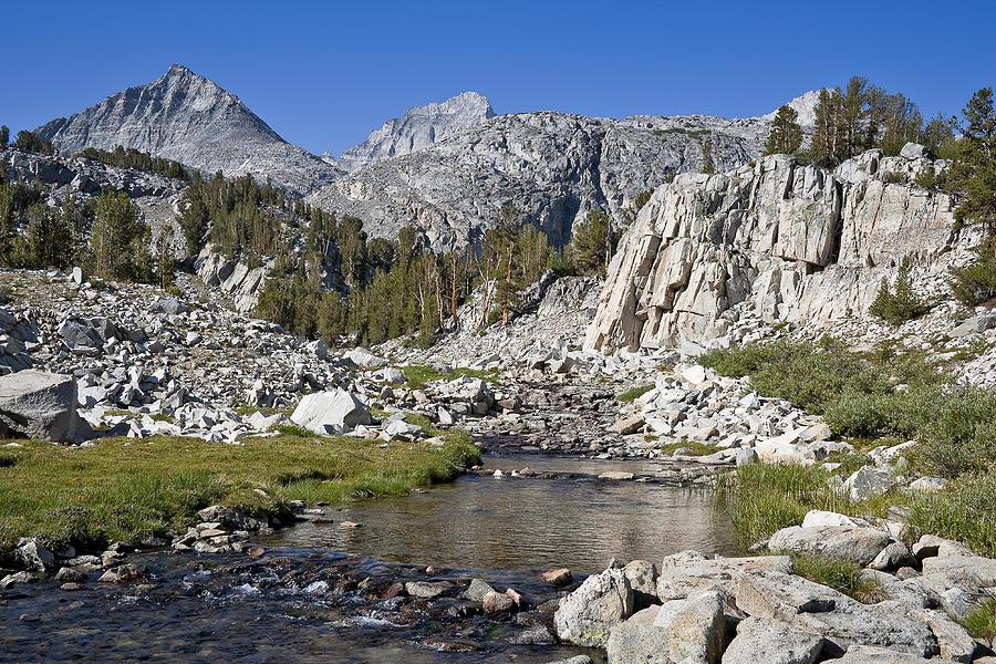 Mountain Photograph - Rock Creek Hike by Kelley King