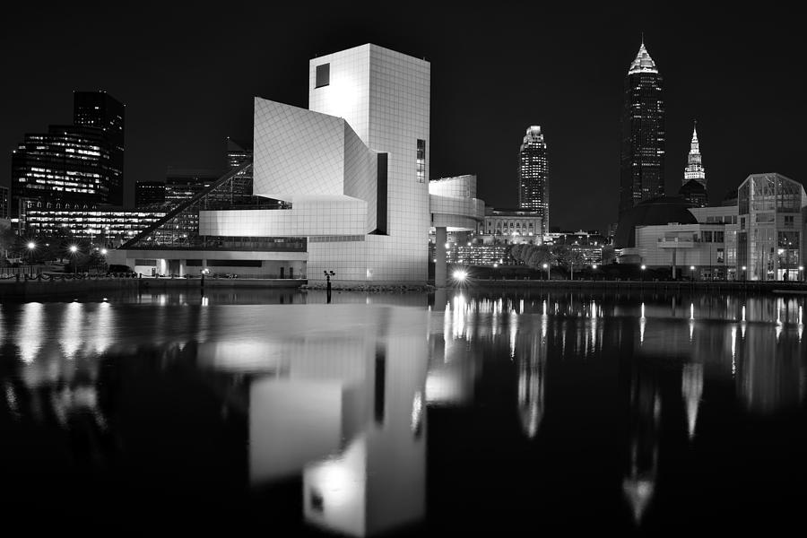 Rock Hall Reflections by Clint Buhler