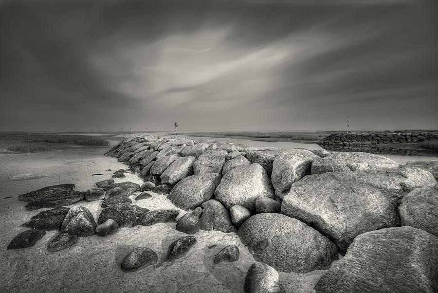 Stones Photograph - Rock Harbor by Dapixara Art