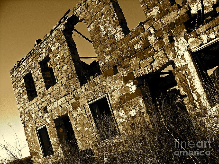 Rock House Photograph - Rock House Ruins by Chuck Taylor