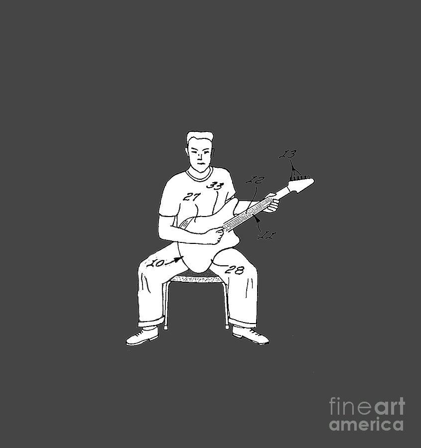 Drawing Drawing - Rock On Dude by Edward Fielding