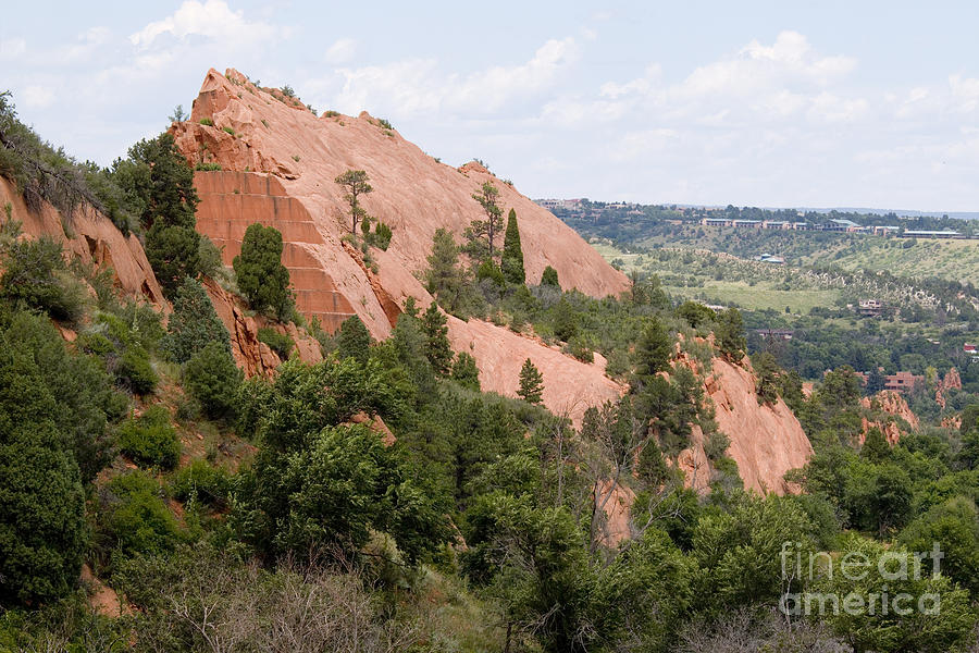 Rock Quarry On The Mesa Trail In Red Rock Canyon Colorado Photograph