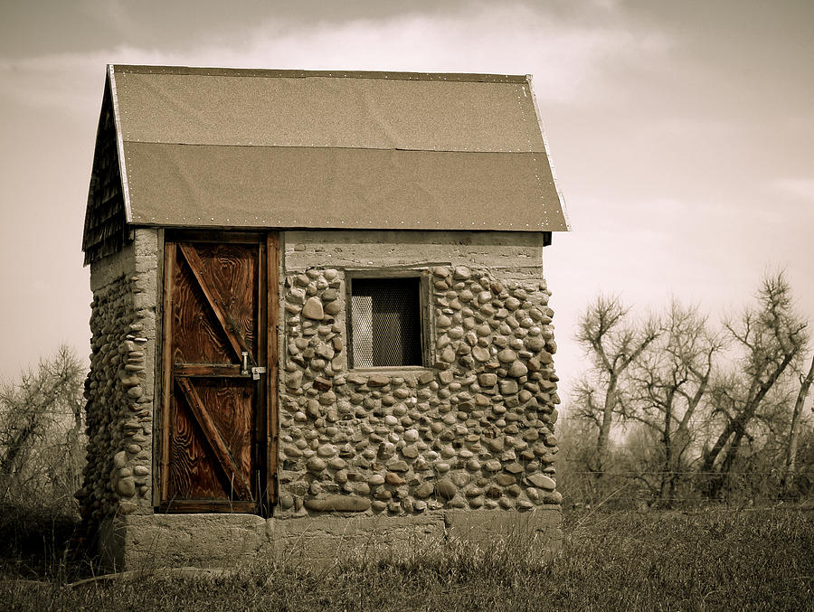 Americana Photograph - Rock Shed 2 by Marilyn Hunt