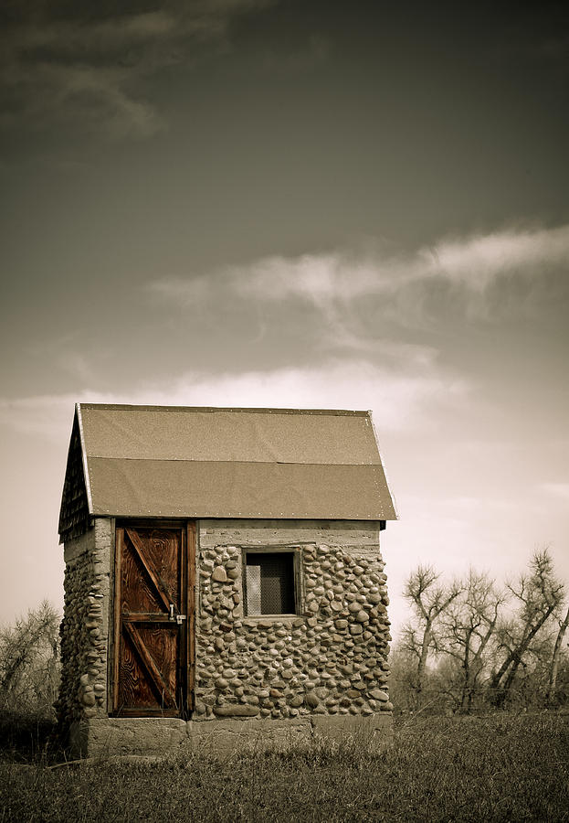 Rock Photograph - Rock Shed by Marilyn Hunt