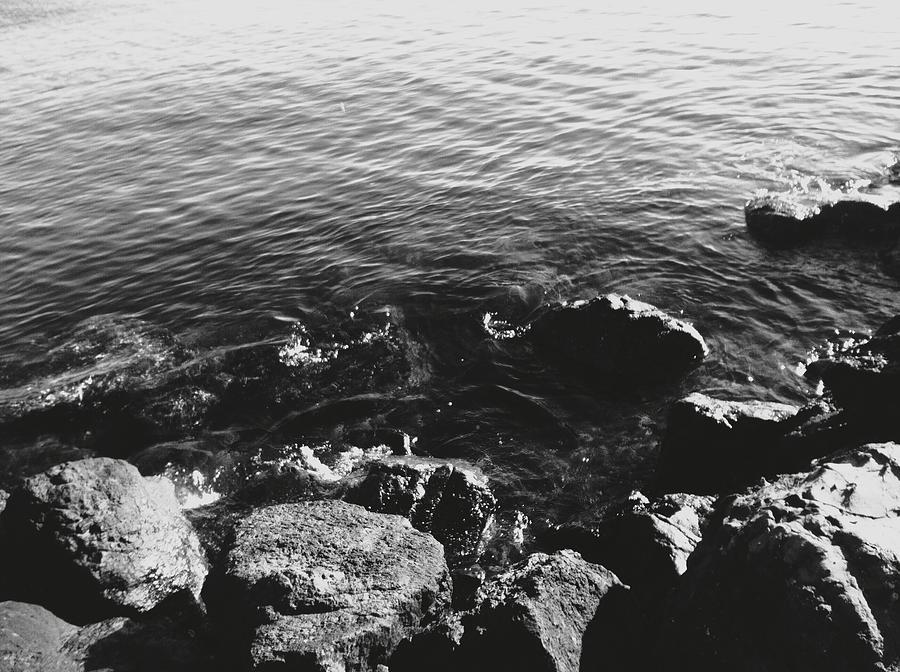 Rock Photograph - Rock Shore by Eddie G