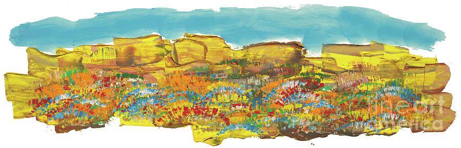 Rocks Painting - Rock Springs by Bjorn Sjogren