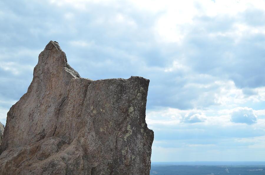 Rock Photograph - Rock Top by Natalia Kazana