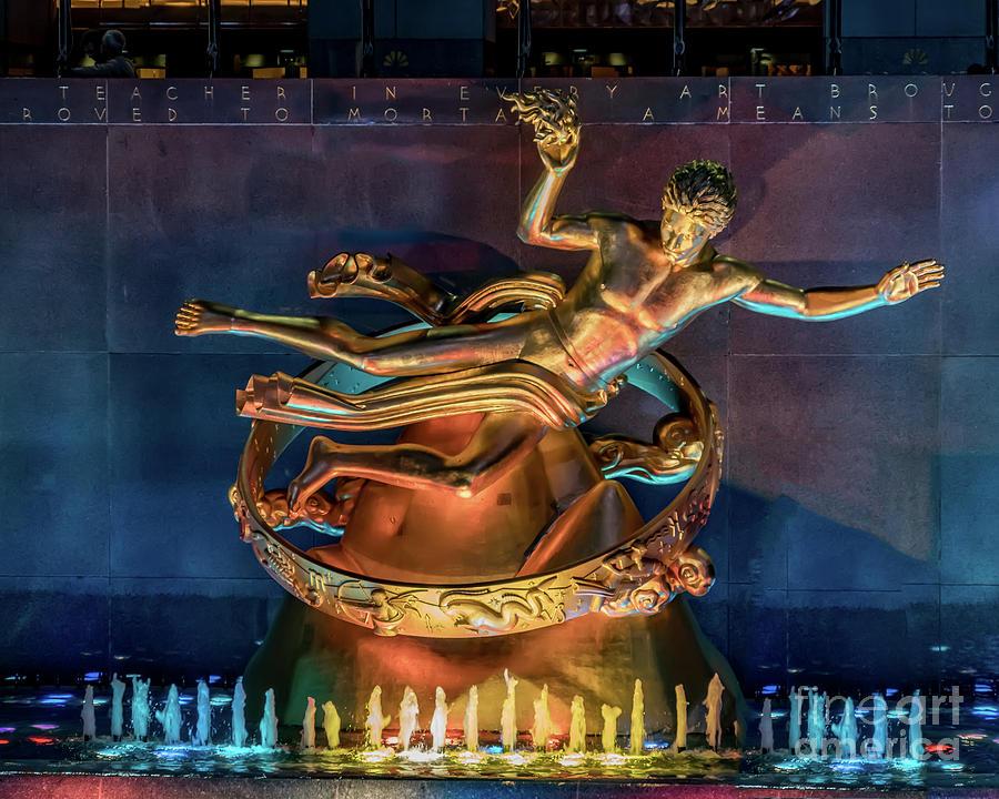 Rockefeller Bronze by Sue Karski