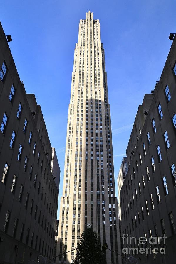 Destination Photograph - Rockefeller Center New York City by Douglas Sacha