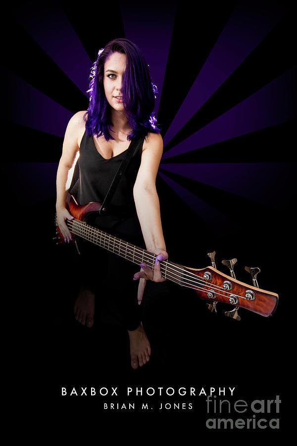 Rocker Girl Photograph by Brian Jones