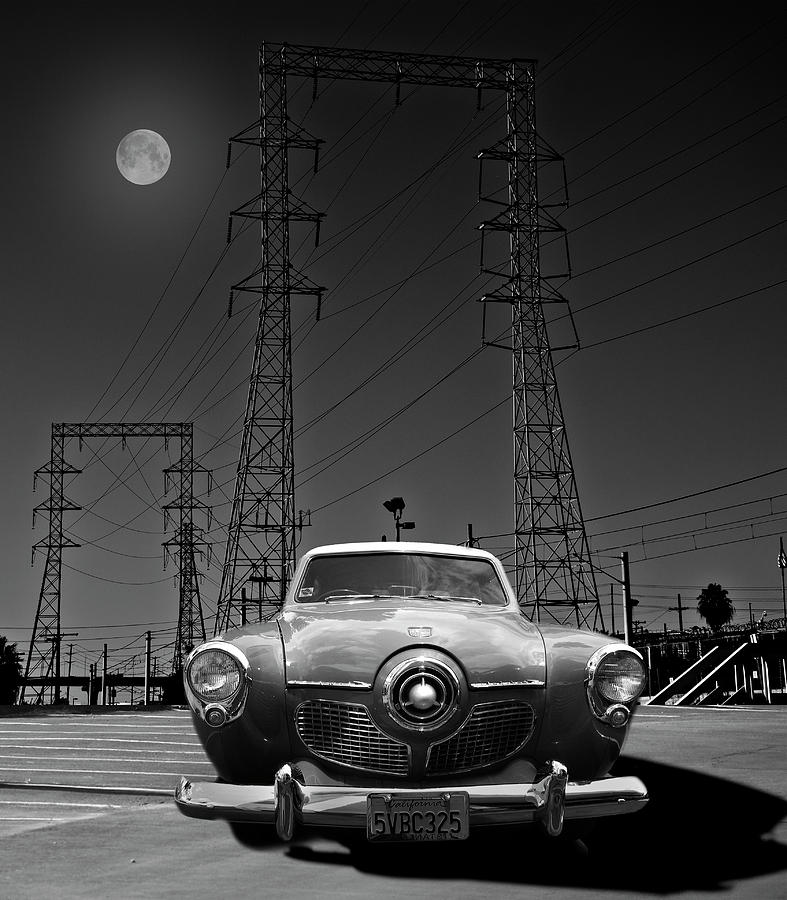 Studebaker Photograph - Rocket Ship To The Moon by Larry Butterworth