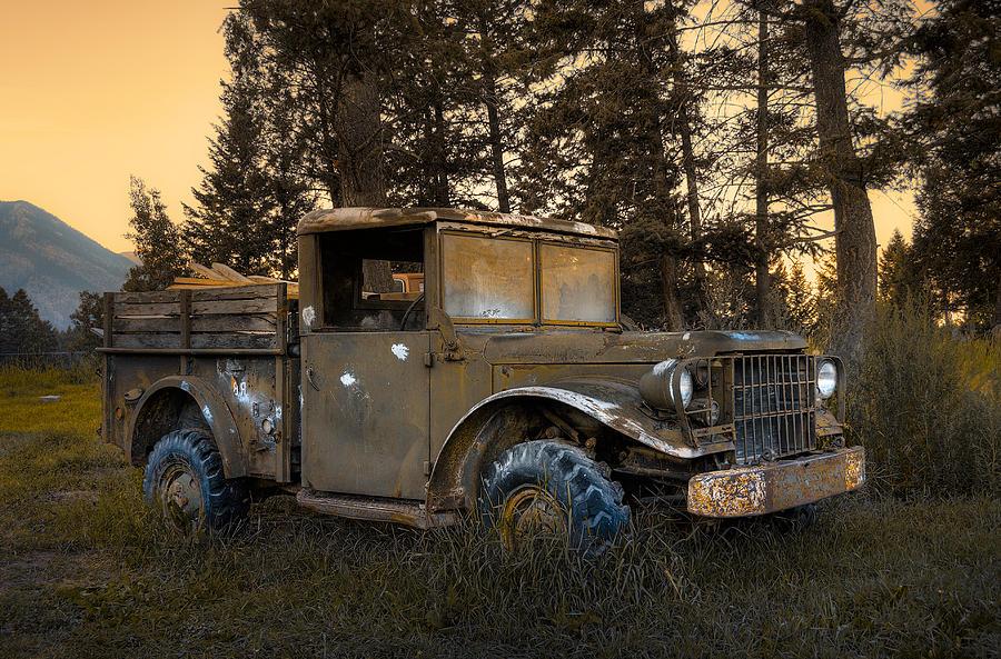 Rockies Photograph - Rockies Transport by Wayne Sherriff