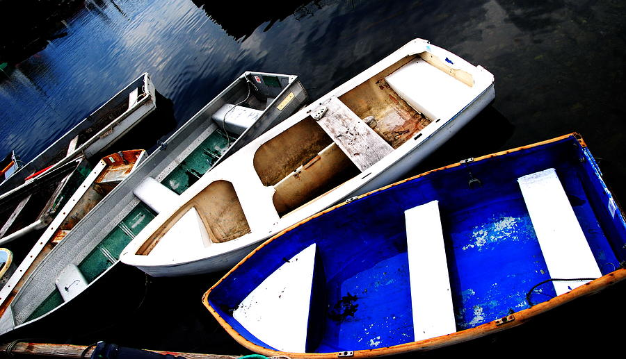 Rockport - Boat Collection by Jacqueline M Lewis