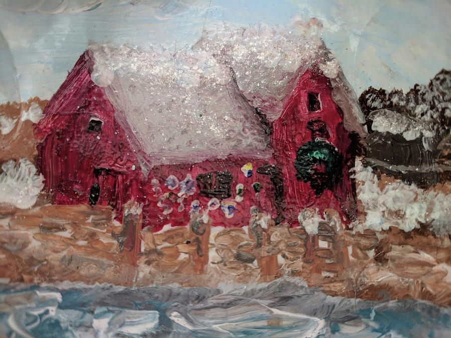 Rockport Christmas 1 by Jeannine Selig