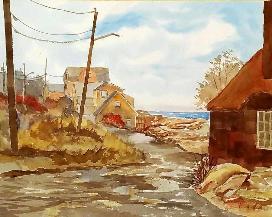 Rockport Coast by Larry Hamilton