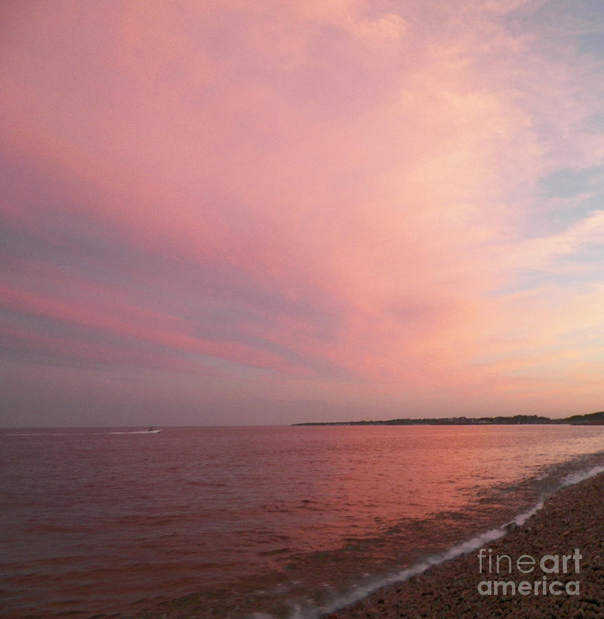 Rockport Photograph - Rockport Sunset by Gina Sullivan