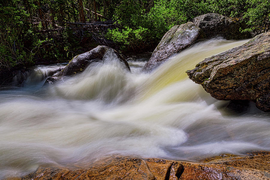 Rocks And Rapids by James BO Insogna