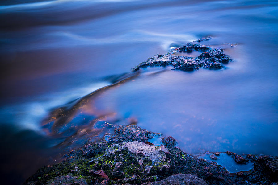 Hillsborough Photograph - Rocks And Water by Marvin Spates