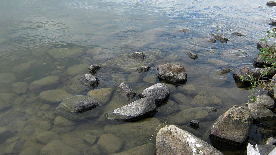 Rocks Photograph - Rocks And Water Too by Emma Frost