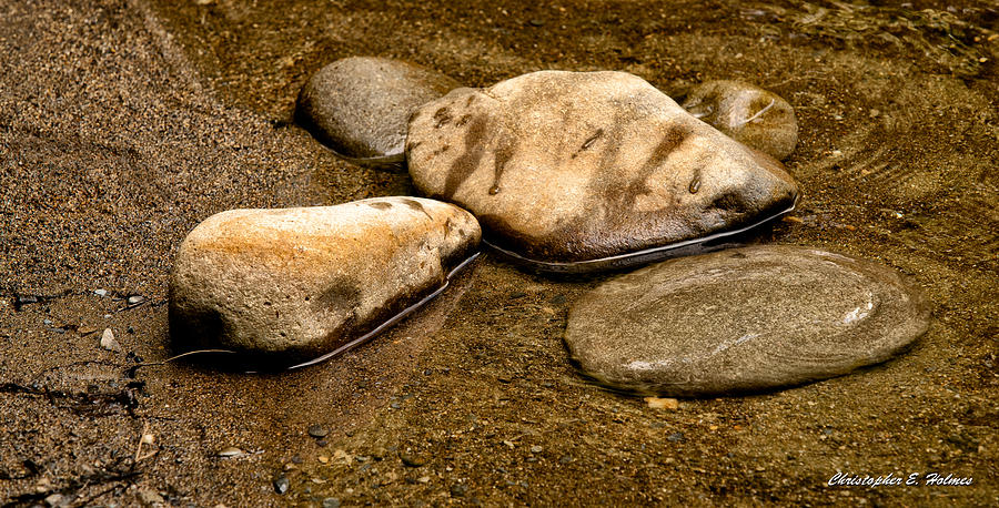 Christopher Holmes Photography Photograph - Rocks At Rest by Christopher Holmes