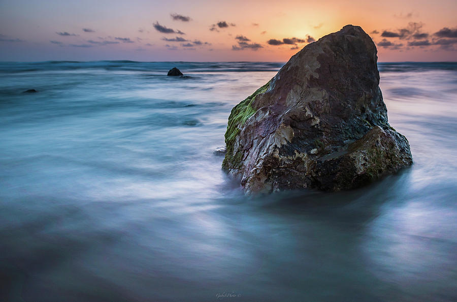 Rocks at sunset 4 by Gabriel Israel