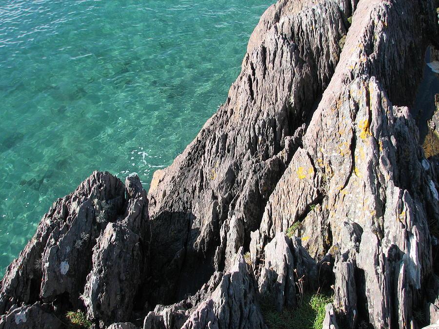 Kerry Photograph - Rocks Of Kerry by Kelly Mezzapelle