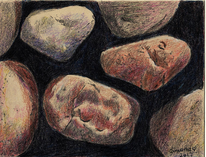 Rocks by Quwatha Valentine