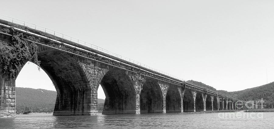 Pennsylvania Photograph - Rockville Bridge by Steve Rudolph