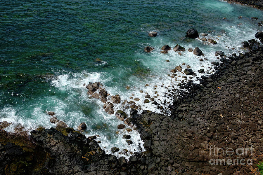 Landscape Photograph - Rocky Coast by Clic- Cat