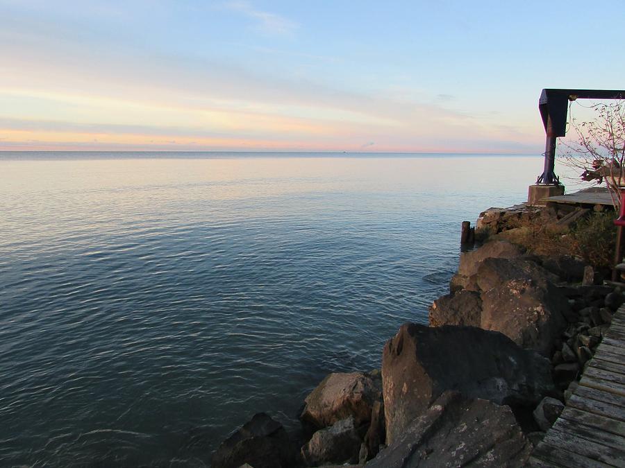 Great Lake Photograph - Rocky Coast by Juli Kreutner
