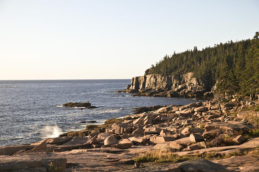 Acadia Photograph - Rocky Coast Of Acadia by Frank Russell