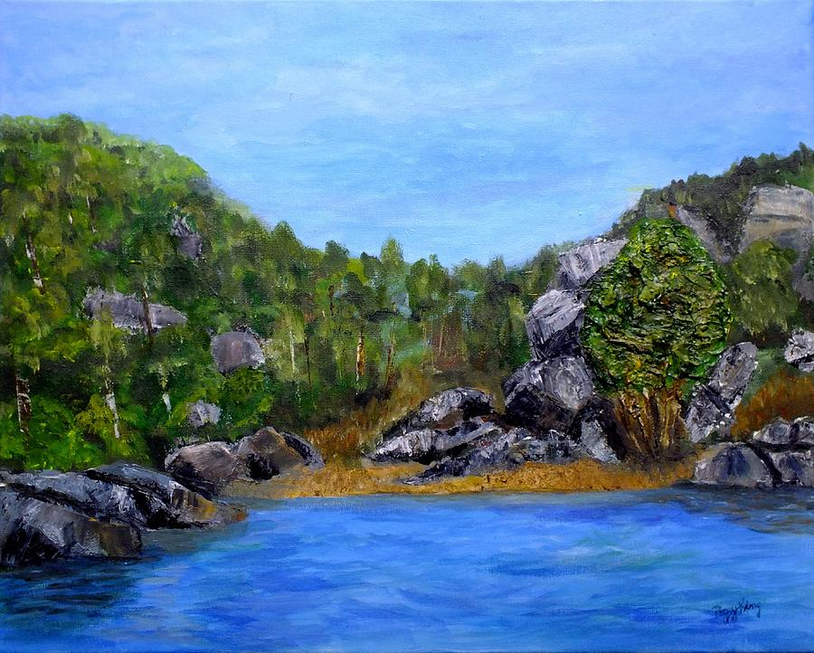 Rocky Cove by Peggy King