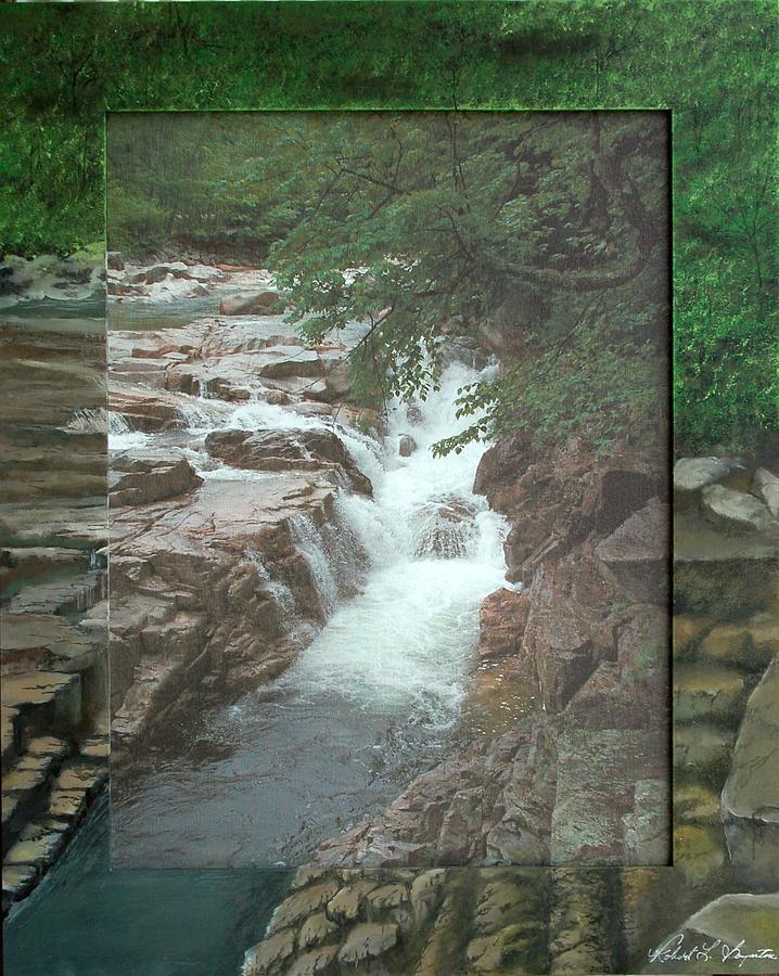 Rocky Gorge Mixed Media - Rocky Gorge by Robert Boynton