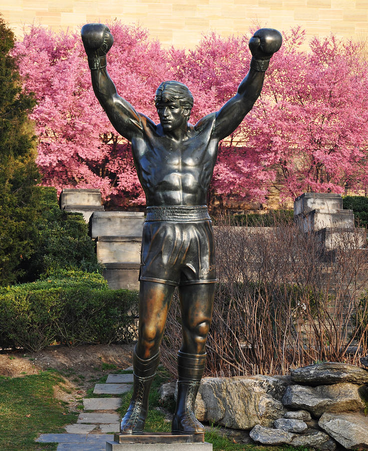 Philadelphia Photograph - Rocky In Spring by Bill Cannon