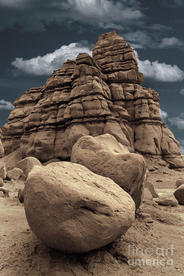 rocky landscape - Pinnacles Boulders by Sharon Hudson