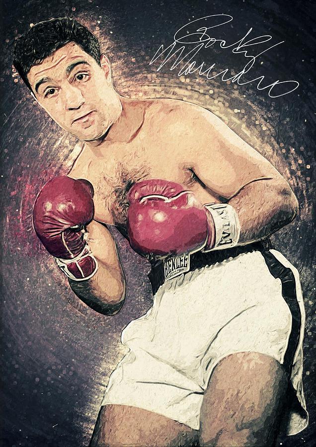 Rocky Marciano Digital Art