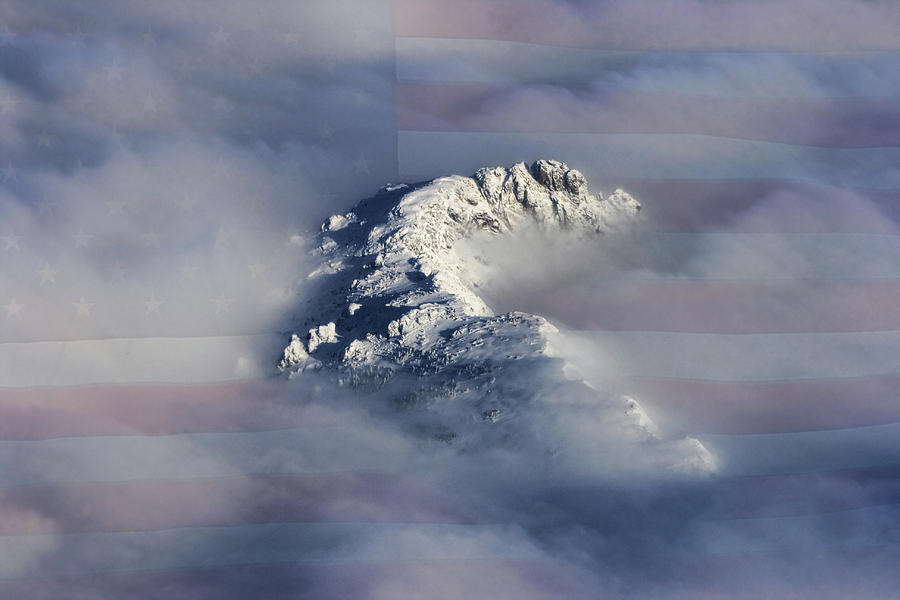 Rocky Mountain High - America The Beautiful Photograph