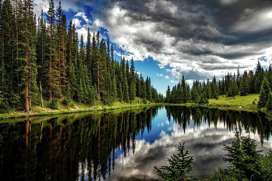 Rocky Mountain Lake Irene Photograph by David Dehner